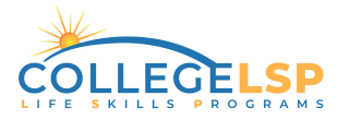 College Life Skills Program Logo